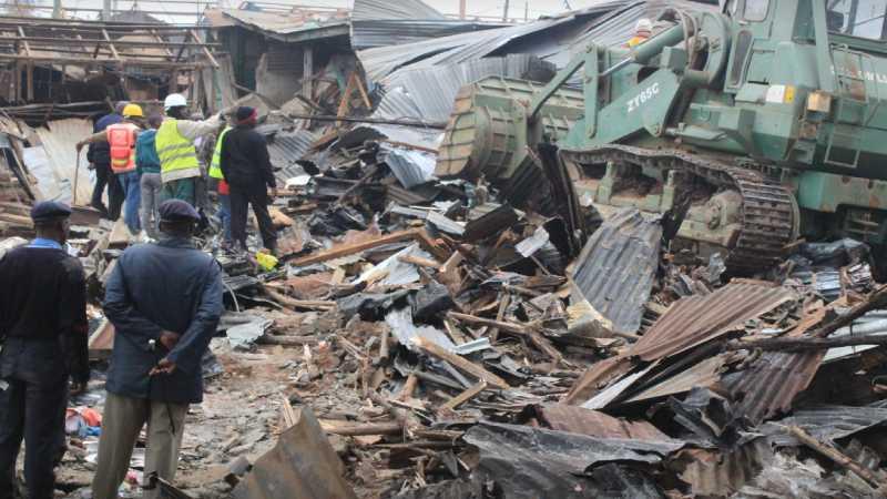 Kibra demolitions